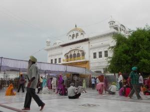 A vida dentro do templo.